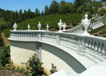 Material: Carved Stone Balustrades